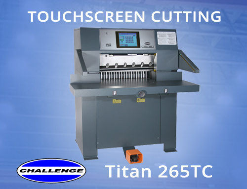 Touchscreen Controlled Hydraulic Cutting
