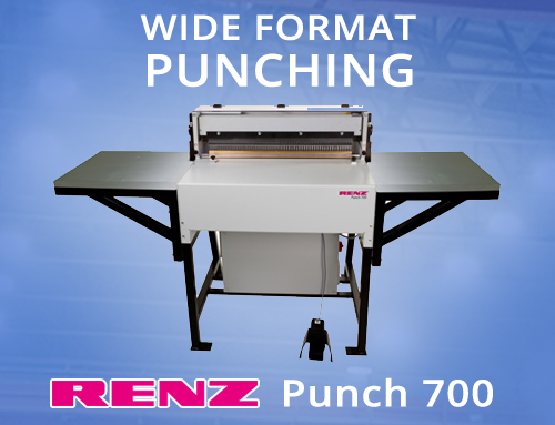 Wide Format Punching with the Renz Punch 700