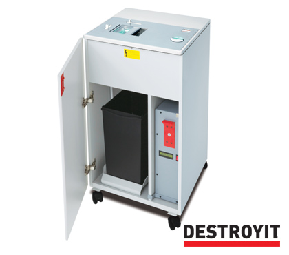 MBM Destroyit Hard Drive Punch & Degausser